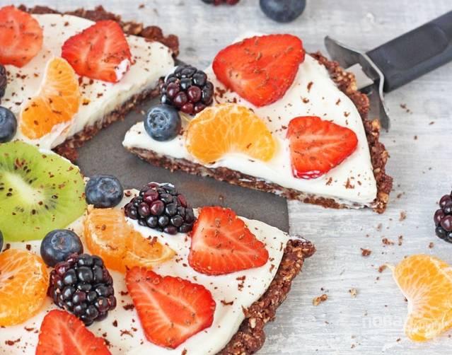 Простой фруктовый десерт