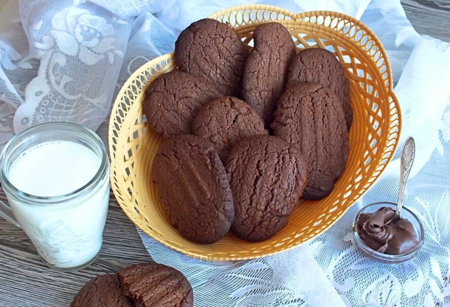 Печенье из шоколадной пасты
