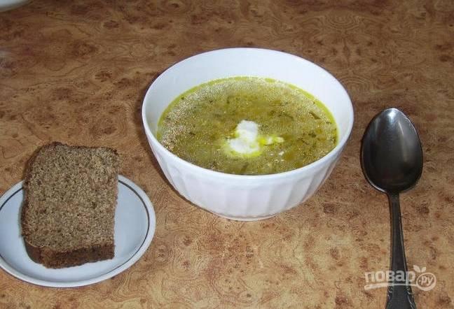 """Суп """"Кондер"""" (самый простой рецепт)"""