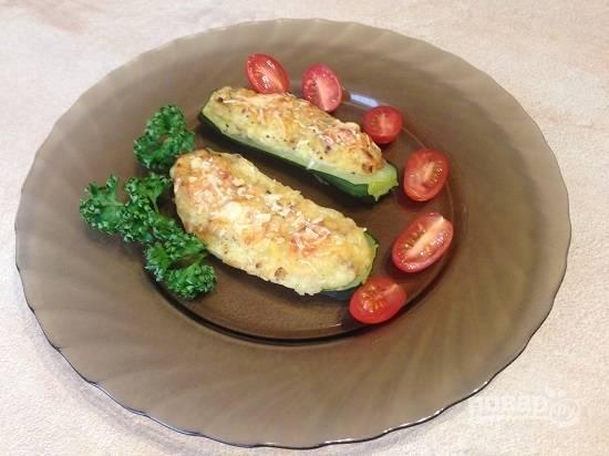 10. Подаем со свежими овощами или соусом.