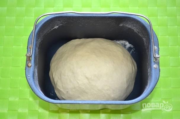 Через 30 минут тесто готово.
