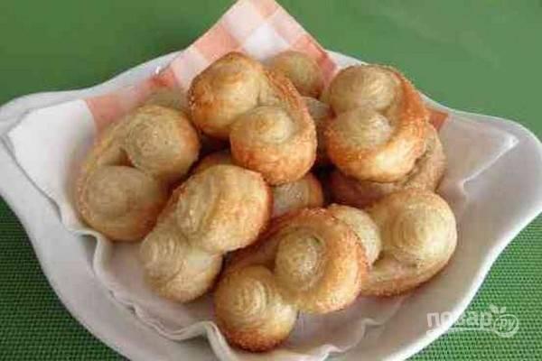 9.Выложите печенье, дайте немного остыть и подавайте на стол. Приятного аппетита!