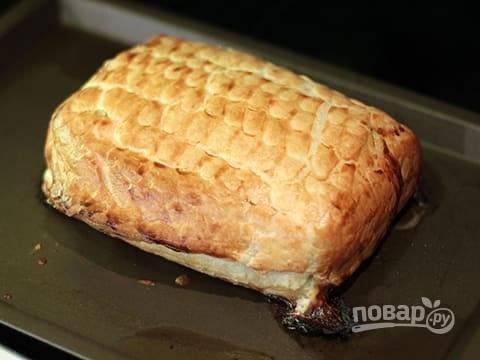 Отправьте в разогретую до 180 градусов духовку на 20-25 минут. Блюдо готово!