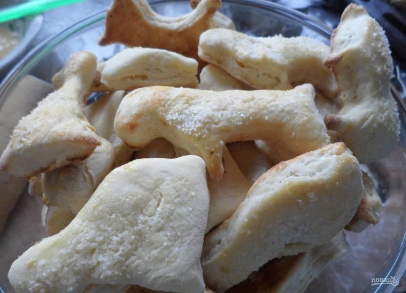 Детское печенье на кефире