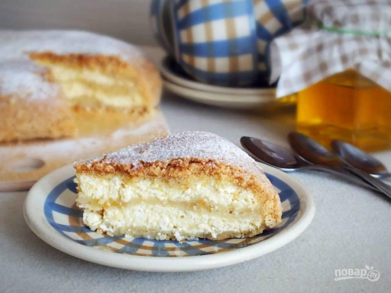 Насыпной пирог в мультиварке