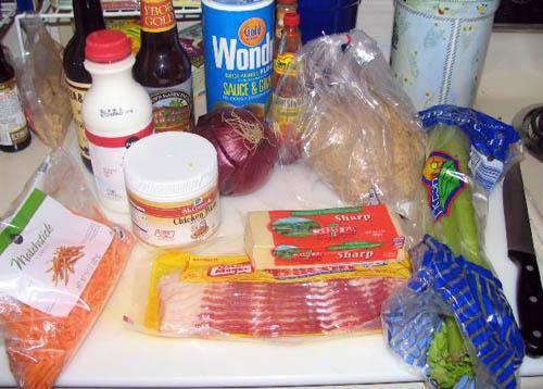 1. Подготовим ингредиенты