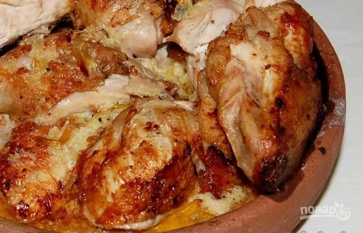 Курица чкмерули