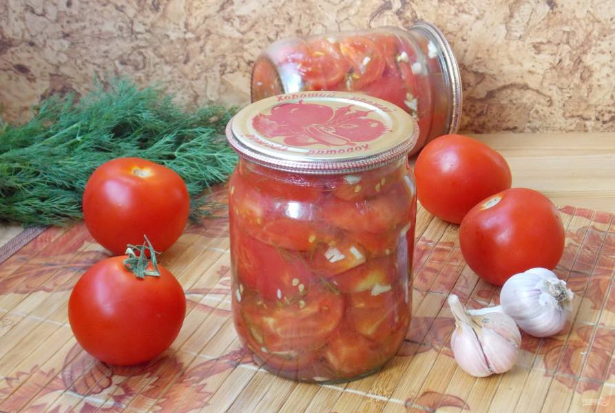 Консервированные помидоры, как свежие