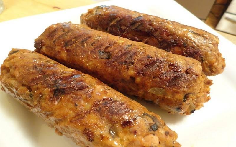 Веганская колбаса
