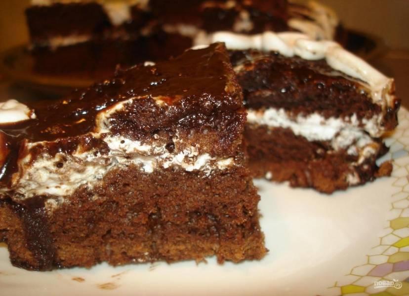 "Торт ""Шоколад на кипятке"""