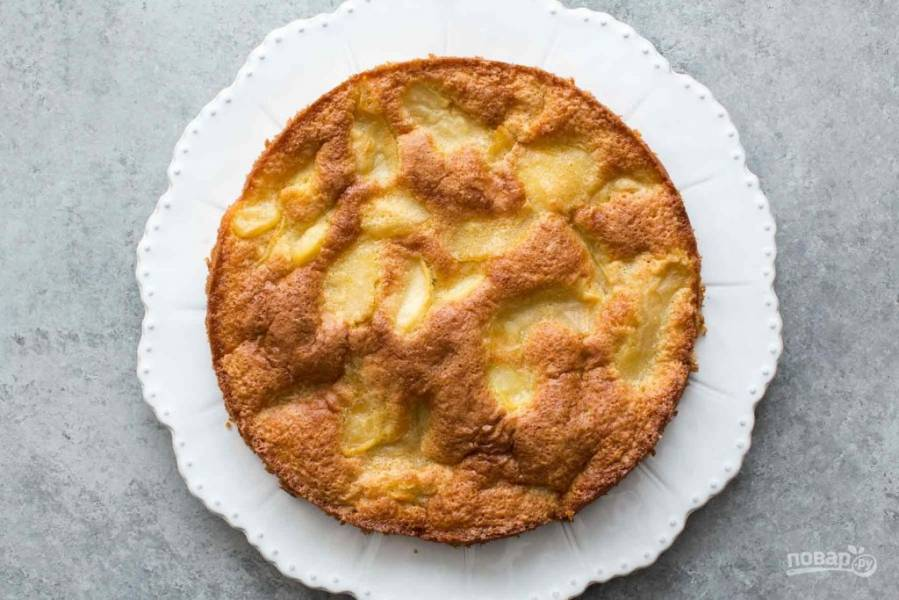 Яблочный пирог с к чаю