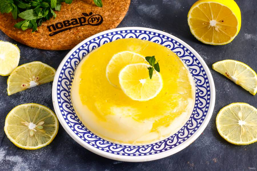 Лимонный конфи