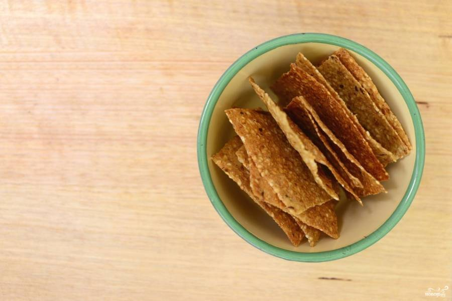 Рисовые чипсы