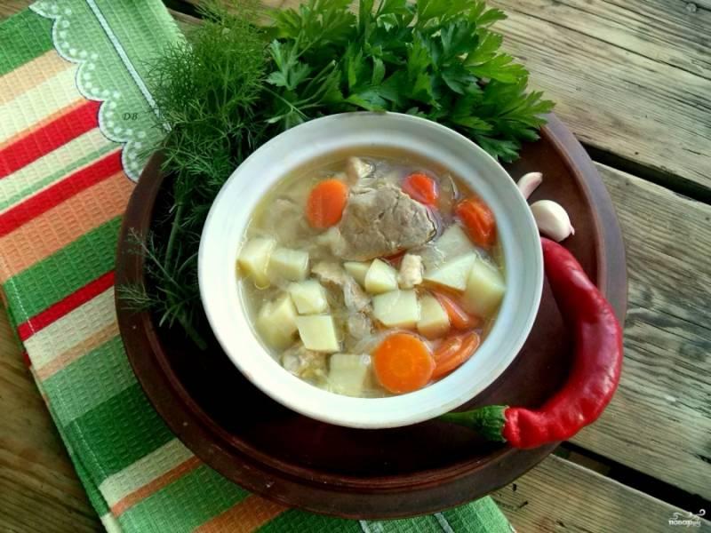 Подавать горячим со свежей зеленью. Приятного аппетита!