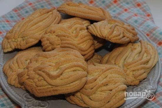 Песочное печенье через мясорубку