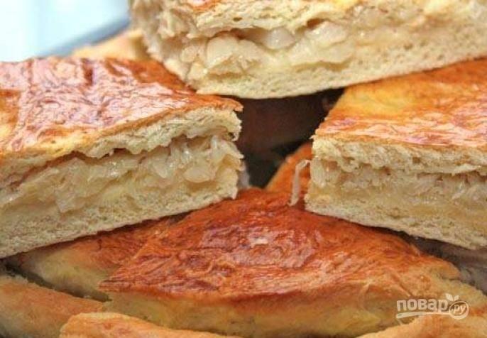 Пирог с капустой (простой рецепт)