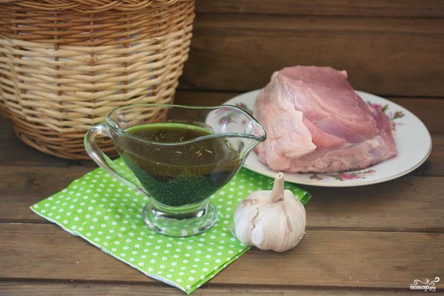 Маринад для свинины в духовке