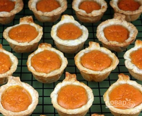 6.Переложите кексы из формы на решетку и оставьте для остывания. Приятного аппетита!