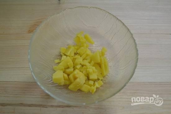 3. Отправьте в глубокий салатник.