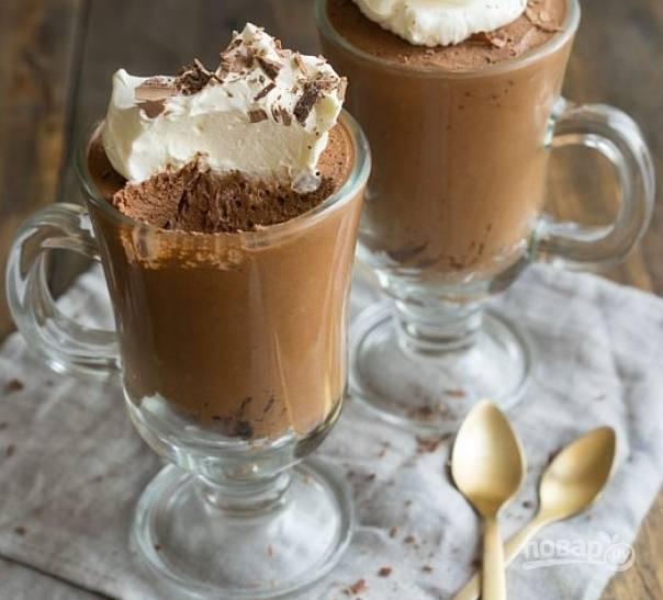 Шоколадный мусс (очень быстрый рецепт)