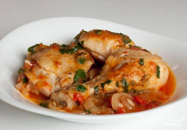 Курица в мультиварке по-грузински