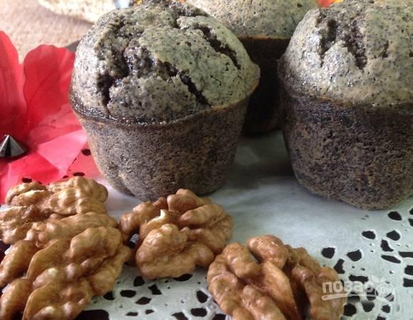 Ореховые пирожки без муки
