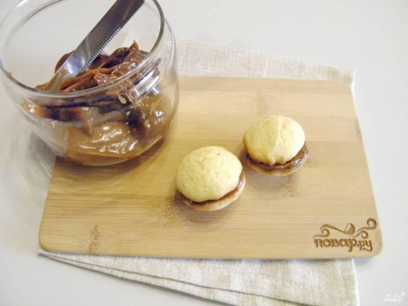 Печенье со сгущенкой готово! Приятного аппетита!