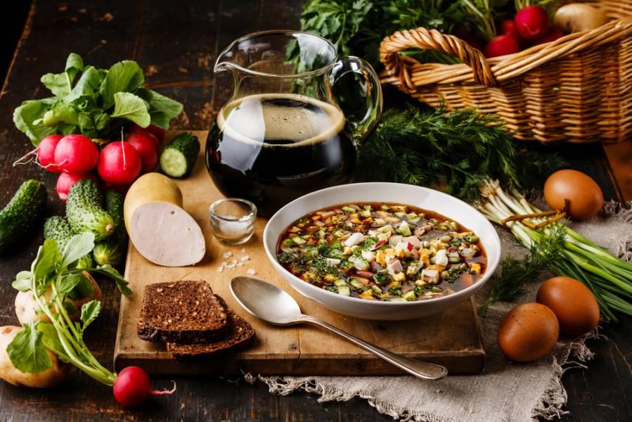 Полезный весенний суп за 5 минут