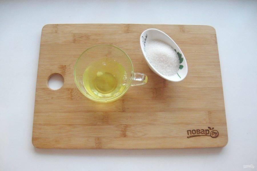 Подготовьте ингредиенты для швейцарской меренги.