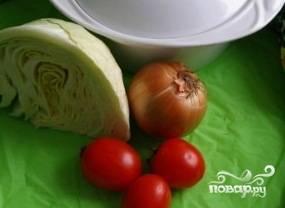 Приготовить овощи и горшочек.