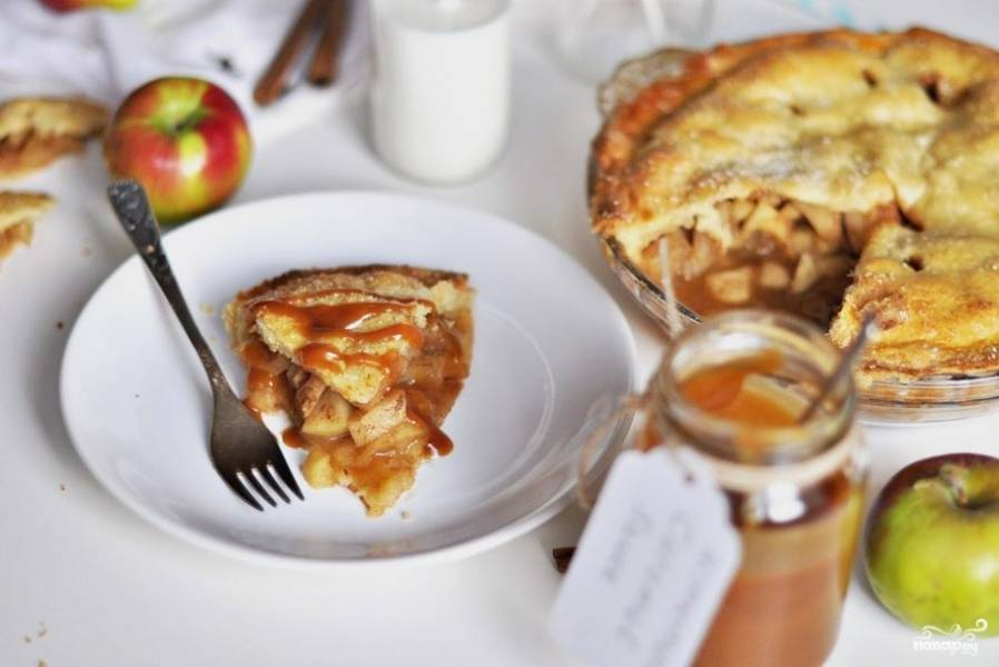 Обалденный яблочный пирог