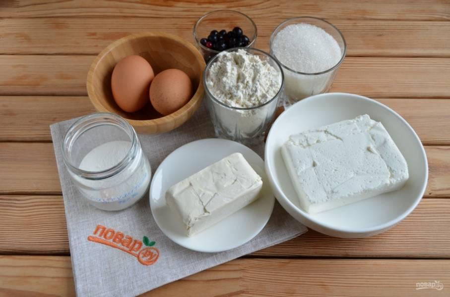 Подготовьте продукты. Масло сливочное должно быть комнатной температуры. Приступим.