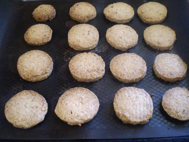 8. Готовое печенье снимите с листа, остудите. Приятного аппетита!