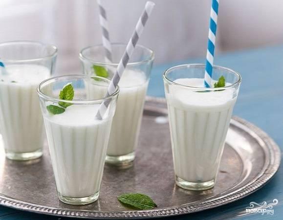 Айран из молока