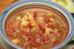Суп из зеленого чили