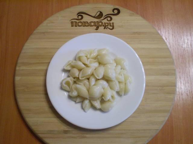 9. Разложите макароны порционно.