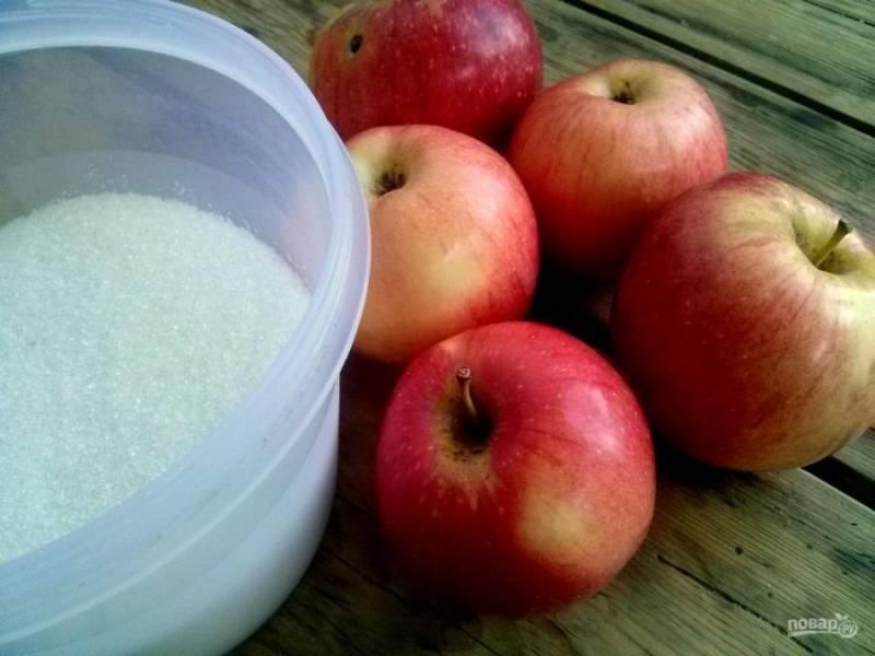 1.     Тщательно вымойте яблоки.