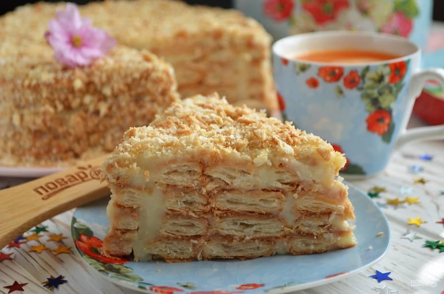 """Торт """"Ленивый Наполеон"""""""
