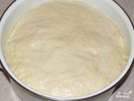 Постное дрожжевое тесто