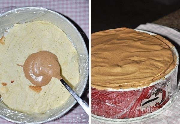 11. Остывшие коржи перемажьте кремом и соберите торт.