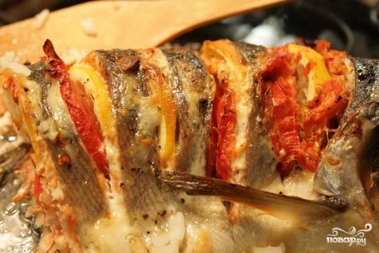 Рыба кижуч, запеченная в духовке