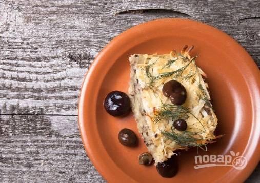 4. Запекайте в разогретой до 180 градусов духовке около 15-25 минут до румяной корочки. Приятного аппетита!