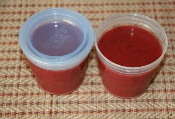 5. Закатываем в стерильные баночки, храним в холодильнике или морозилке.