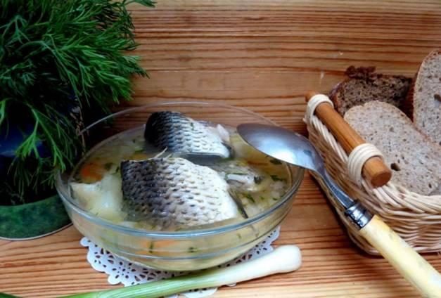 Подавать готовый кулеш рыбный можете с зеленью и черным хлебом. Приятного аппетита!
