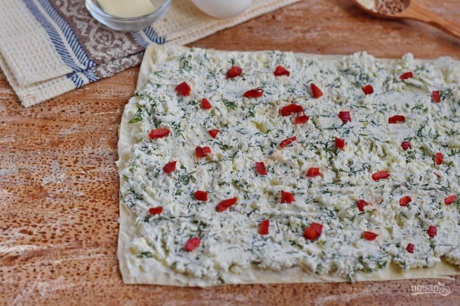 Для красок рекомендую добавить красный болгарский перец, порезанный на мелкие кусочки.