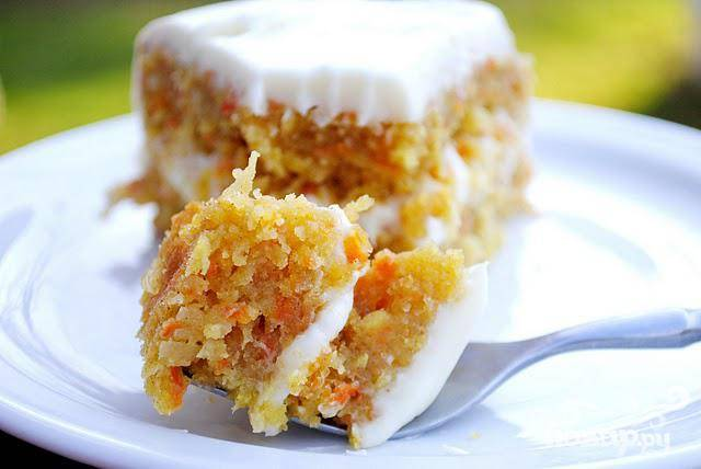 Морковно-кокосовый пирог