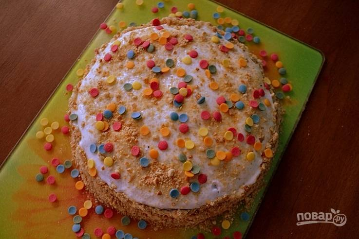 Торт на сметане от бабушки Эммы