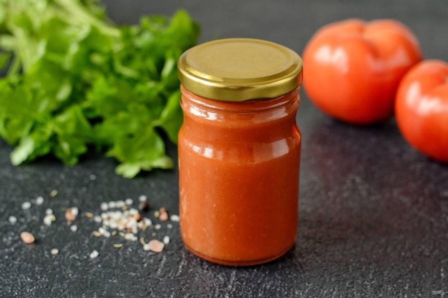 Домашний кетчуп из помидоров на зиму