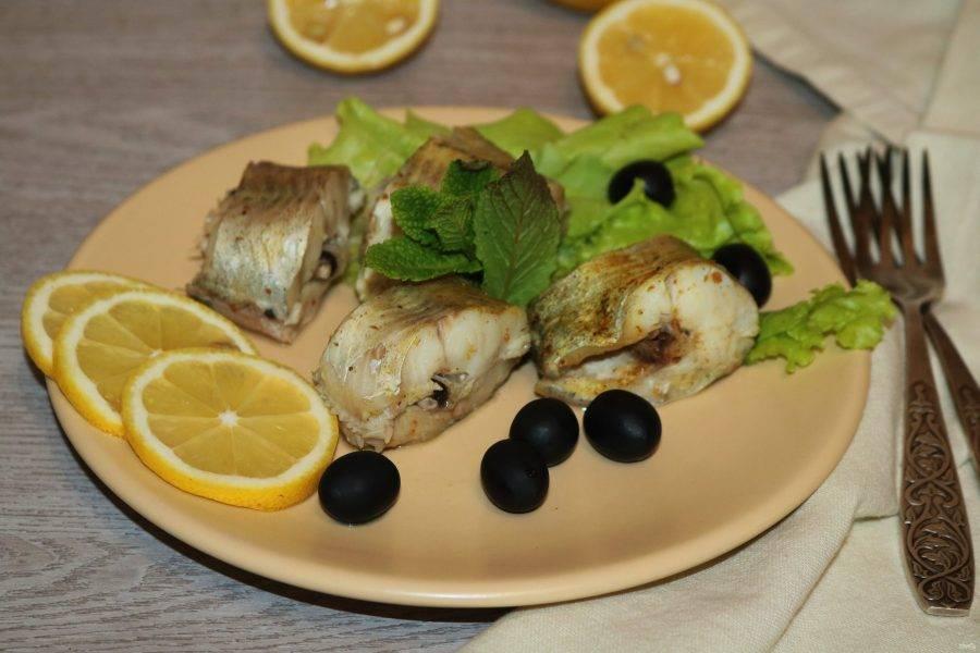 Рыба получается сочная и очень вкусная. Приятного аппетита!
