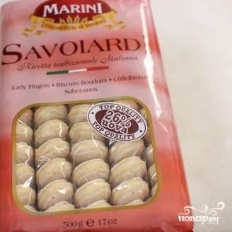 7. Приготовьте итальянское печенье Савоярди или Дамские палочки.